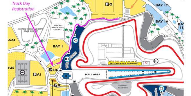Lokasi Pendaftaran MSF Racing dan TrackDay