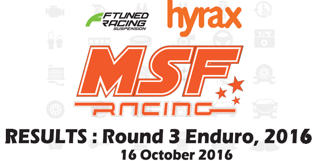 MSF Racing 2016 Rnd 3 Enduro Results