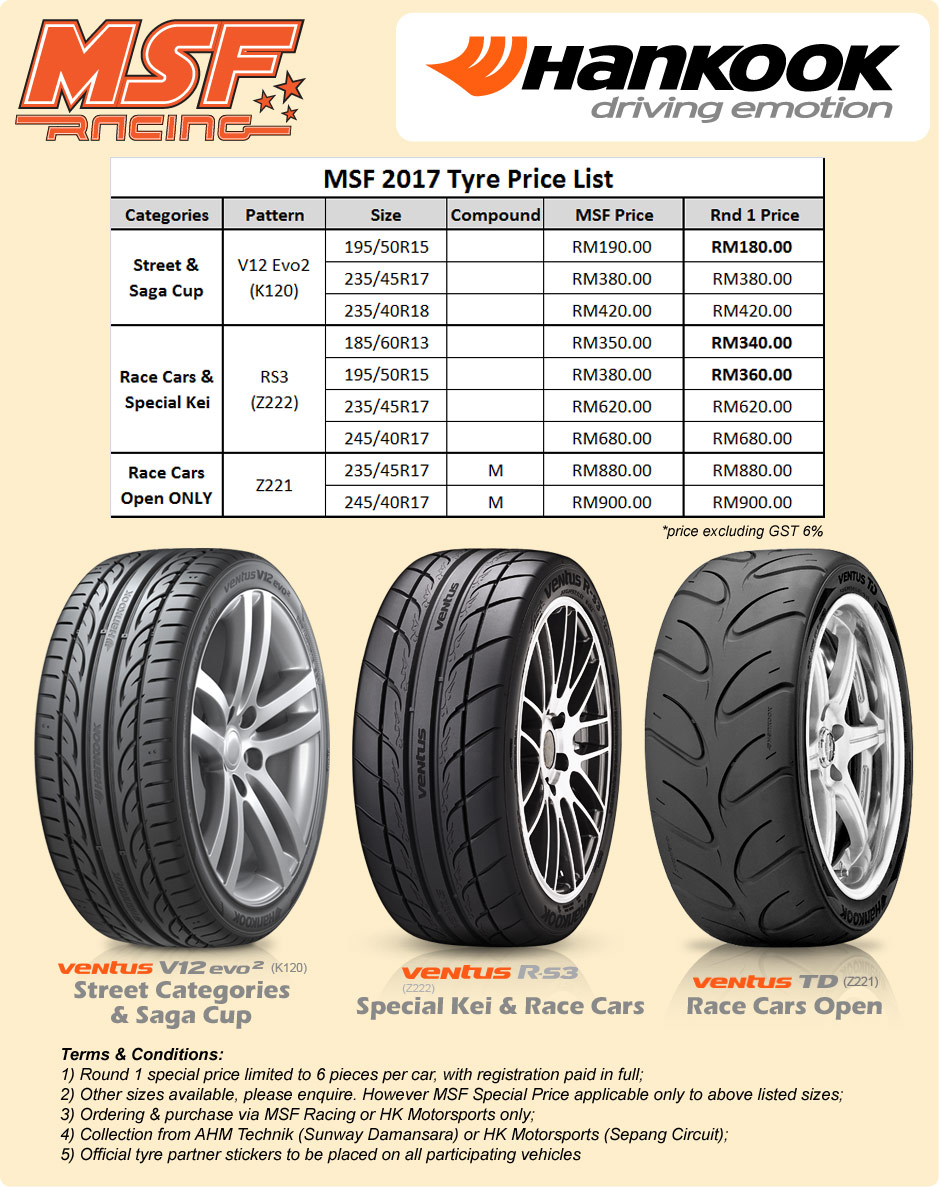 Hankook-Tires-2017-Pricing