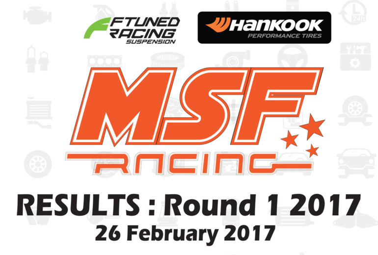 MSF Racing 2017 Rnd1 Results