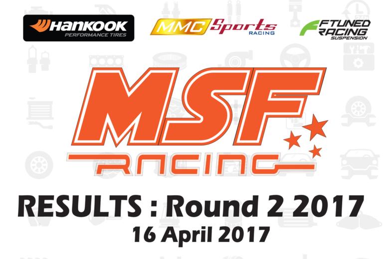 MSF Racing 2017 Rnd2 Results