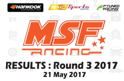 MSF Racing 2017 Rnd3 Results