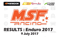 MSF Racing 2017 Enduro Results