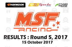 MSF Racing 2017 Rnd5 Results