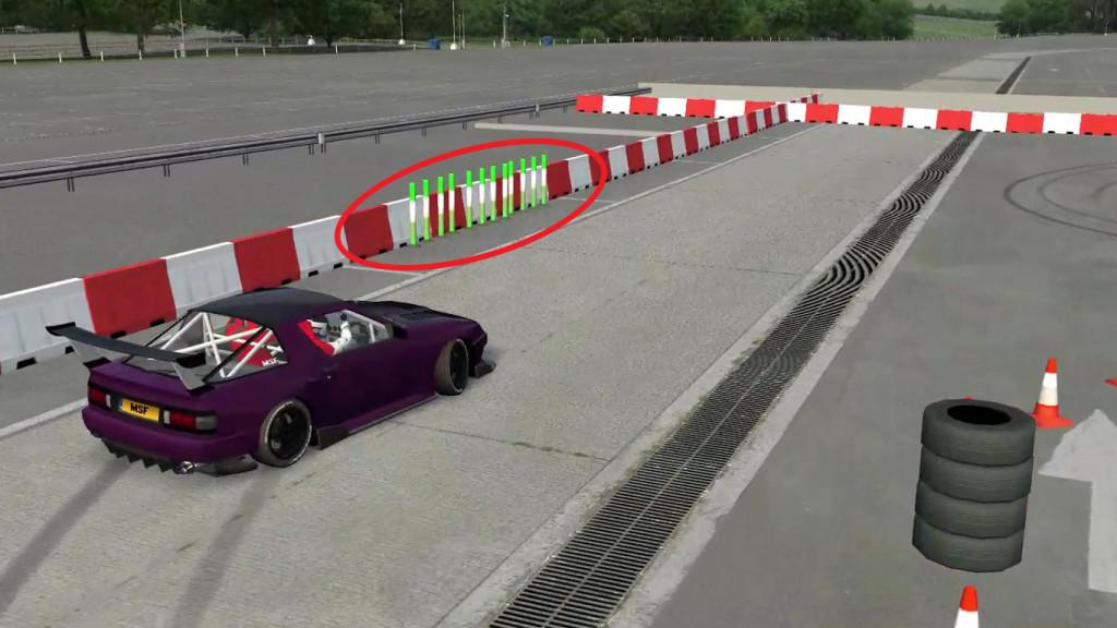 rear wheel entry