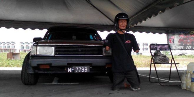 """Pak Busu"" the O.K.U. Drifter will take part in MSF Drift Gonzo Preview round"