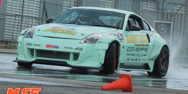Ivan Choo takes the win at the MSF Drift Gonzo Preview Round