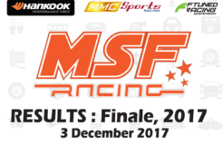 MSF Racing 2017 Finale Round Results