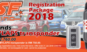MSF Racing 2018 Transponder Package