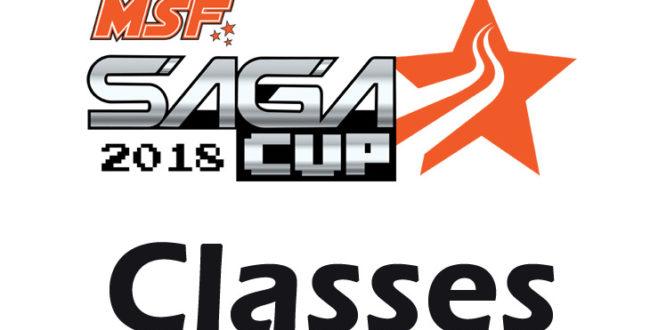 Final Saga Cup Classes 2018