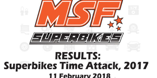 MSF Superbikes Time Attack 2018