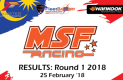 MSF Racing 2018 Round 1 Results