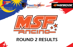 MSF Racing 2018 Round 2 Results