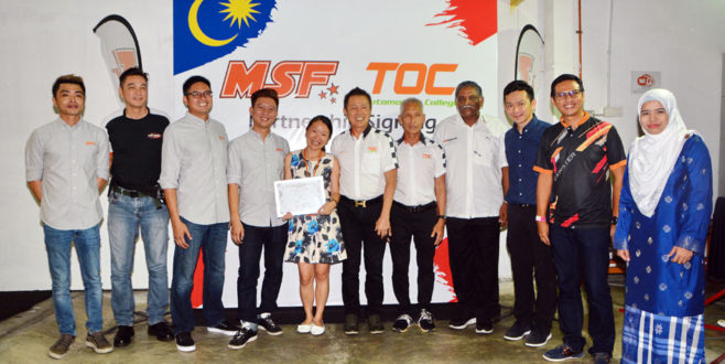 MSF dan TOC Lancar Usaha Kerjasama untuk Meningkatkan Industri Motorsport Tempatan
