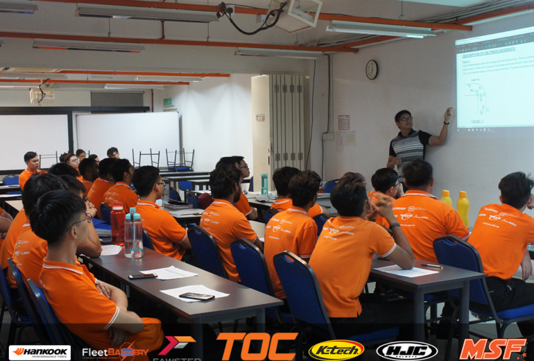 MSF-TOC Apprenticeship Program Begins with a Lecture