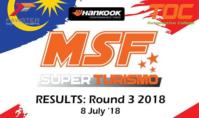 MSF SuperTurismo 2018 Round 3 Results