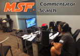 Commentator Search for MSF Live Feed