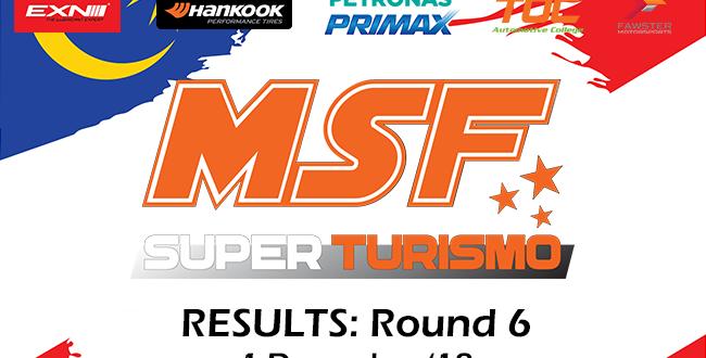 MSF Finale 2018 SuperTurismo Results
