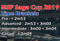 MSF Saga Cup Time Brackets 2019