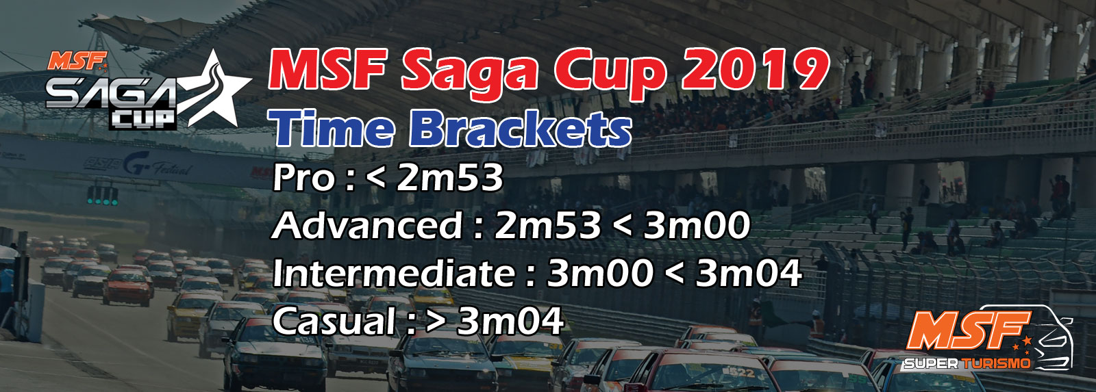 MSF Saga Cup Time Brackets 2019