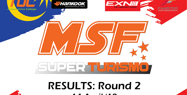 MSF Superturismo 2019 Round 2 Results