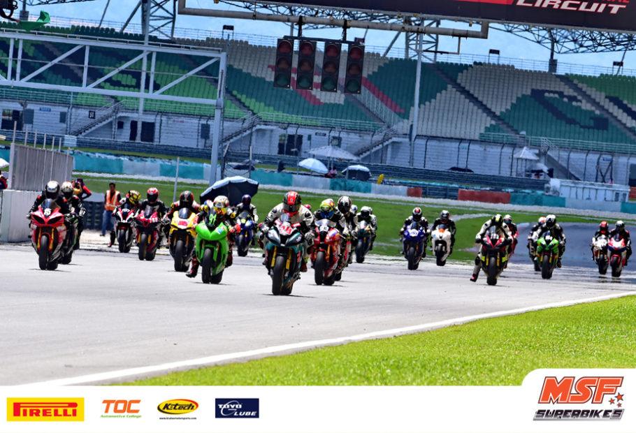 MSF Superbikes : Toyo Super Rookie, #151 Unggul Pusingan Pertama