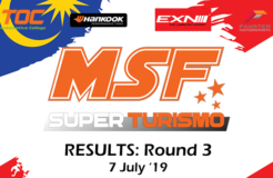 MSF Superturismo 2019 Round 3 Results