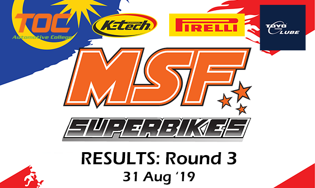 MSF Superbike Enduro 2019-Round 3