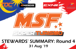 Steward Summary MSF Superturismo Enduro Merdeka Round 4