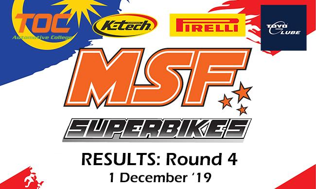 MSF SUPERBIKE 2019 – ROUND 4