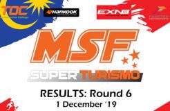 MSF SuperTurismo 2019- Round 6 Finale