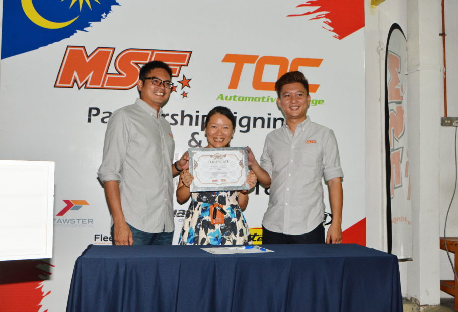 MSF Continues TOC Partnership with Race Car Building Practical Course